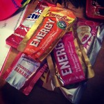 Gels are an awesome way to refuel during a long race.